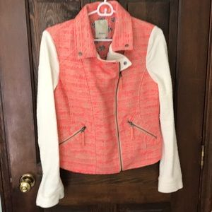 Anthropologie Moto Jacket by Elevenses